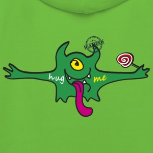 """Hug me"" Monsters Every little monster needs a hug - Kinder Premium Hoodie"