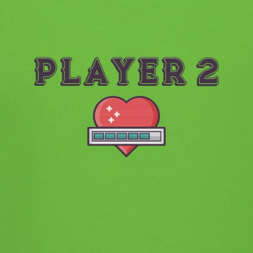 Player 2 Familien Partnerlook Geschwister - Kinder Premium Hoodie