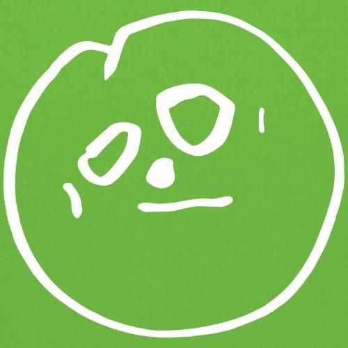 'Mr Moon' - moony face kids drawing - Kids' Premium Hoodie