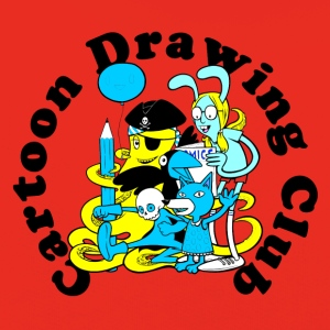 Cartoon Drawing Club - Kids' Premium Hoodie