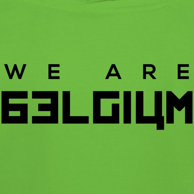 we are belgium