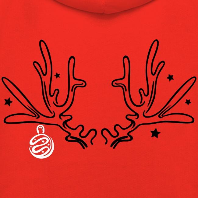 Aufblasbare Rentier-Geweih-Hut mit Ringen für Weihnachten – GadgetLupe
