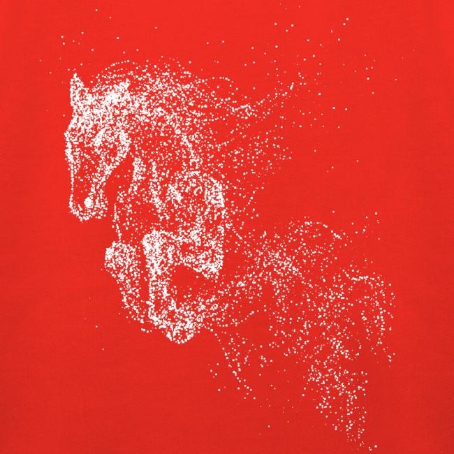 Vorschau: jumping horse white - Kinder Premium Hoodie