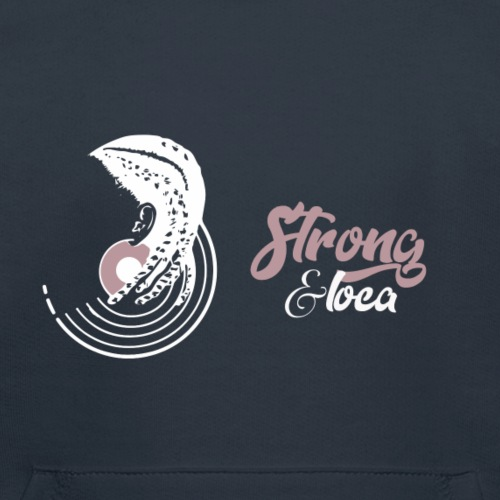 Collection  Strong & Loca  - Pull à capuche Premium Enfant