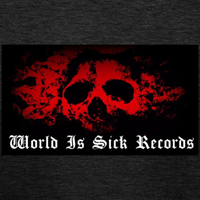 World Is Sick Skull Huppari