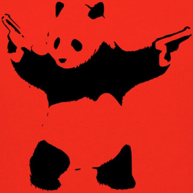 oso panda pistolas