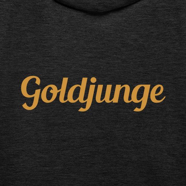 Goldjunge Schriftzug | Kinder Premium Hoodie
