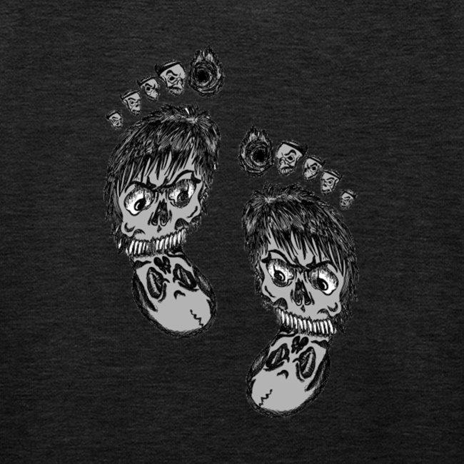 Große Füße