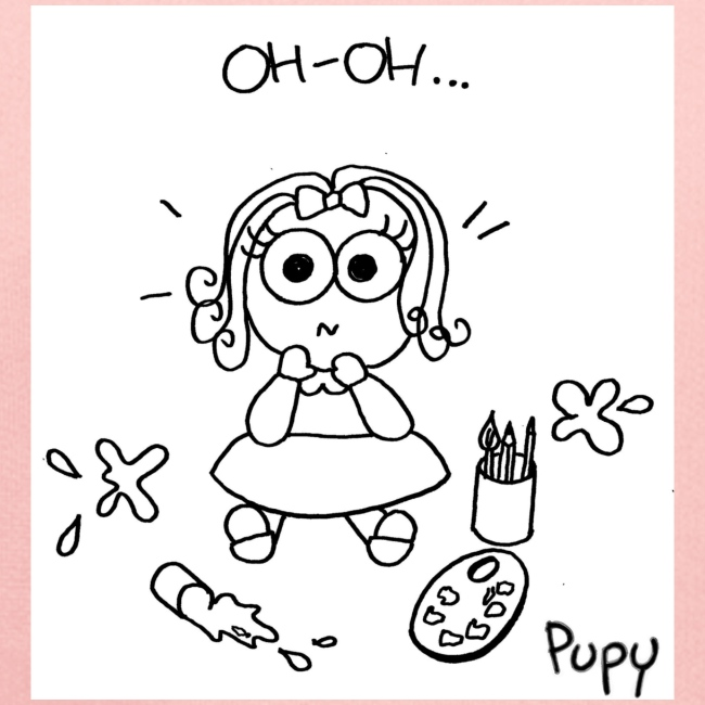 Pupy: oh-oh... - girl