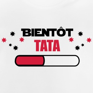 Snart TATA - tante FUTURE - Baby T-shirt