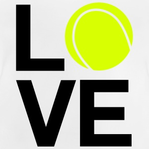 tennis_love - Camiseta bebé