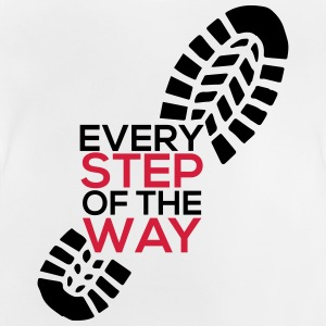 Every step of the way - Baby T-Shirt