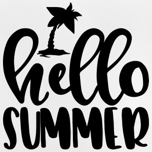 Summer, sun, beach & sea - Hello Summer - Baby T-Shirt