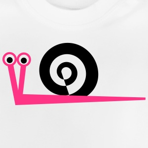 Snail pink 2 - Baby T-Shirt