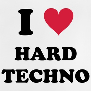 I LOVE HARD TECHNO - Baby T-Shirt