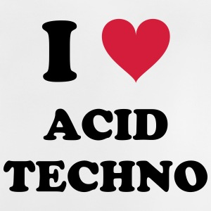I LOVE ACID TECHNO - Baby T-Shirt