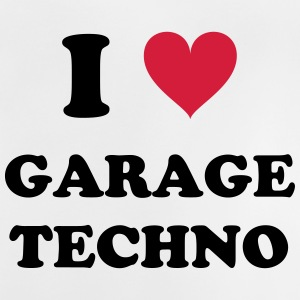J'AIME GARAGE TECHNO - T-shirt Bébé