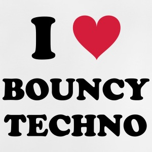 I LOVE TECHNO Bouncy - Baby T-shirt