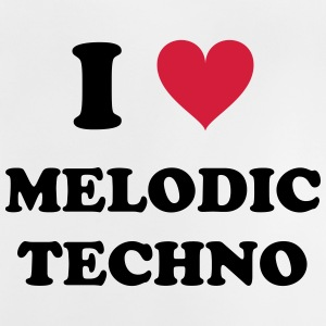 I LOVE MELODIC TECHNO - Baby T-Shirt