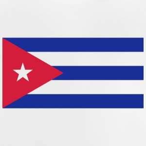 National Flag Of Cuba - Baby-T-skjorte