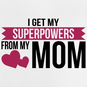 Superpower Mom - Mother's Day - Baby T-Shirt