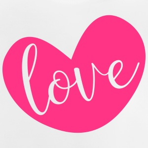 Love in Pink Heart - Baby T-Shirt