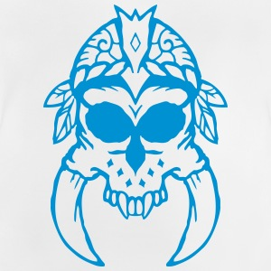 Skull with horns - Baby T-Shirt