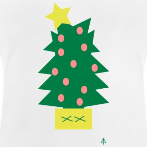 Kerstboom - Baby T-shirt