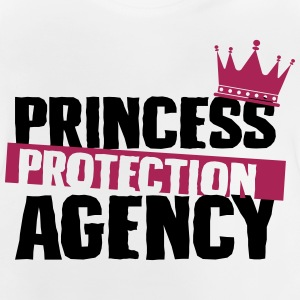 Prinsesse Protection Agency - far - Baby T-shirt