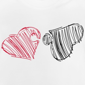 heart Puzzle - Baby T-Shirt