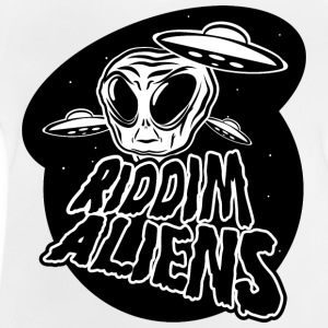 Alien (weiß Design) - Baby T-Shirt
