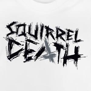 SQUIRREL DEATH - Logo positively - Baby T-Shirt