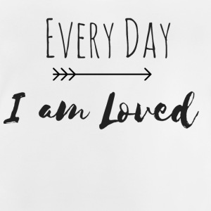 Every Day I am Loved (Partnerlook Part 2) - Baby T-Shirt