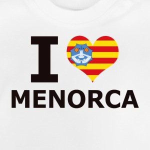 I LOVE MENORCA FLAG - Baby T-Shirt