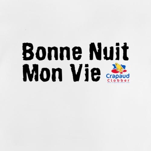 Bonne Nuit Sleeper - Black text - Baby T-Shirt