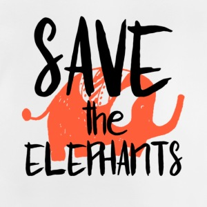 Save the Elephants - Baby T-Shirt