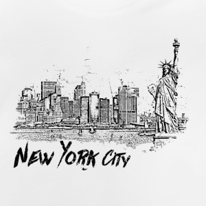 New York City - T-shirt Bébé