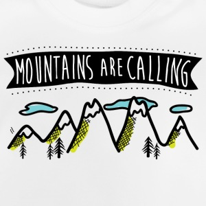 Mountains are calling T-shirt - Baby T-Shirt