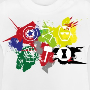 Superhero Team - Baby T-shirt