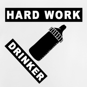 Hard Work Drinker - Baby T-shirt