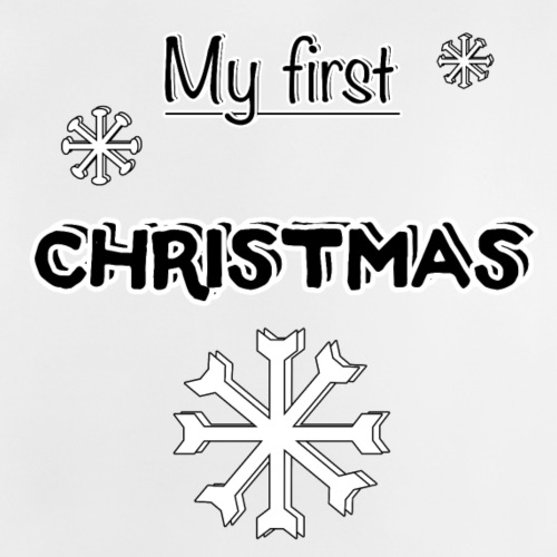 My first Christmas - Baby T-Shirt
