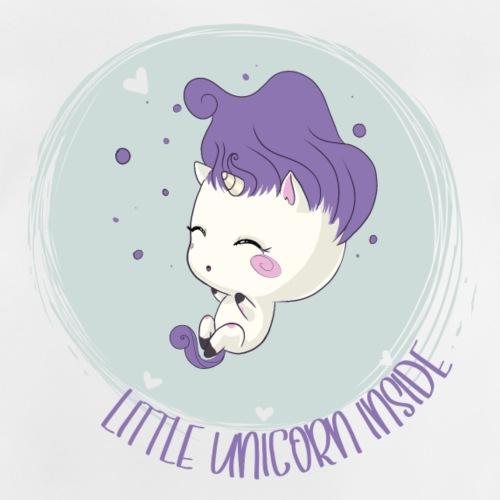 Kleines Einhorn inside - Baby T-Shirt