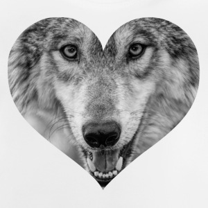 A heart for Wolves - Baby T-Shirt