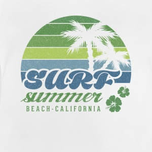 Surf Summer Beach Kalifornien T-shirt - Baby-T-shirt