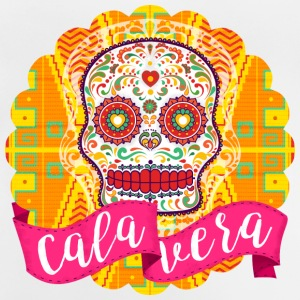 Mexican Sugar Skull of the Day of the Dead - Baby T-Shirt