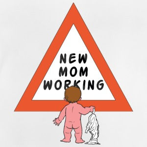 New Mom luiers - Baby T-shirt