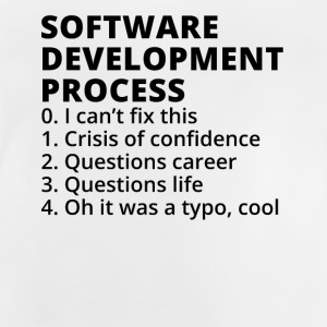 Software Development Process - Baby-T-shirt