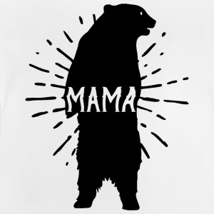 Mama Bear Mothers Day - mödrar - Baby-T-shirt