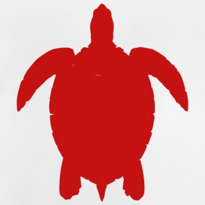Turtle silhouette - Baby T-Shirt