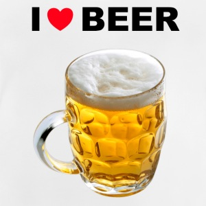 I Love Beer - Baby T-shirt